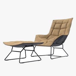 3D model chair lounge