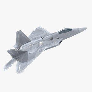 3D f-22