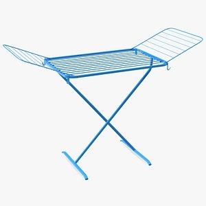 3D drying rack model