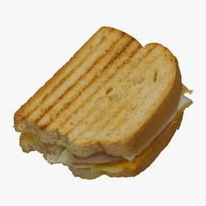 3D toast sandwich