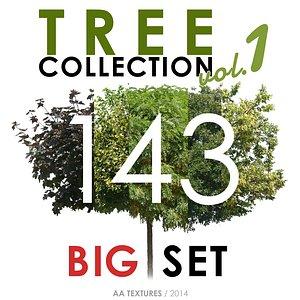 143 Tree Collection vol. 1 - BIG Set