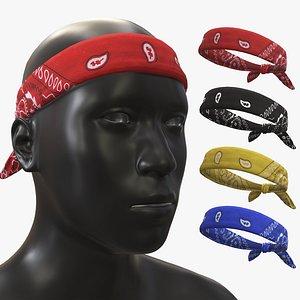 3D Headbands model