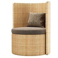 Monica rattan chair D2