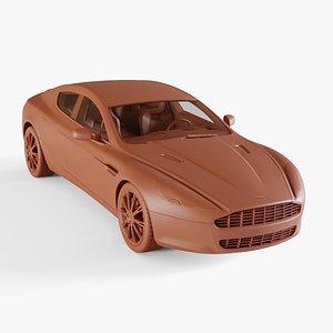 3D aston-martin rapide