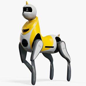 Robot Unicorn XPeng Concept PBR 3D