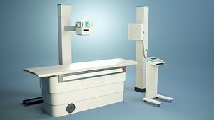 X-ray machine PBR model