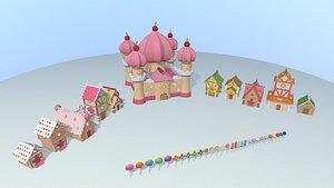3D village