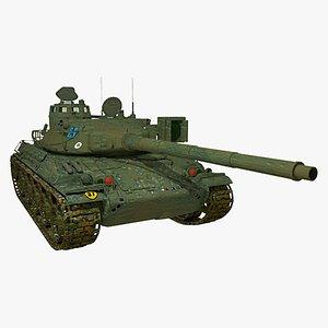 AMX 30 Tank model