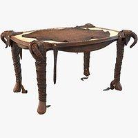 Infernal Furniture Animal Table