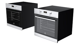 Oven Electrolux EOB 400W Oven 3D model