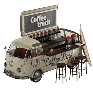 Coffee truck model