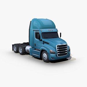freightliner cascadia semi truck 3D