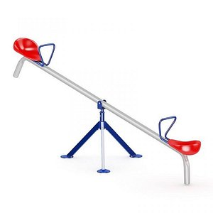 3D Seesaw kindergarten outdoor toys shake horse children plastic toys cartoon seesaw sports equipment e