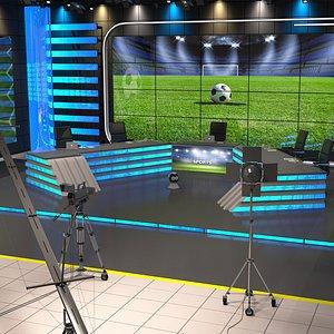 3D studio sports model
