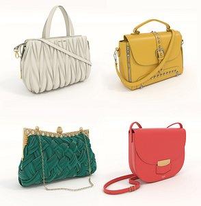 Fashion Women Handbag 3D