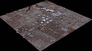 3D Puente Alto - Chile model