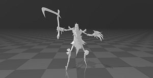 3D Fiddlesticks model