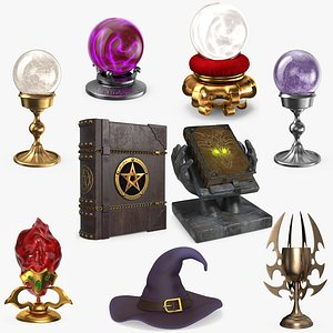 Magic Collection 9 in 1 3D model