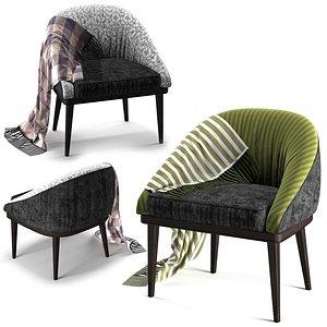 furniture armchair chair 3D model