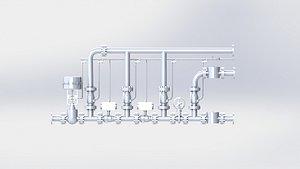3D gas valve