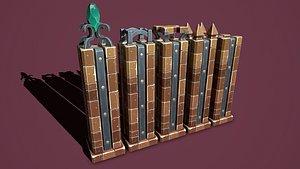 Fantasy obelisk 2 model