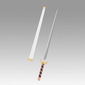 3D sword art online