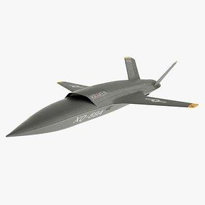 3D model Drone Plane