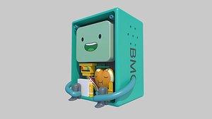 3D robot bot cartoon model