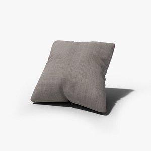3D Throw Pillow model