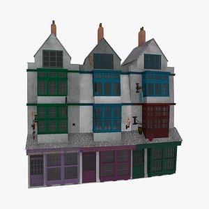 diagon alley 3D model