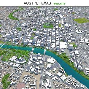 3D Austin Texas model