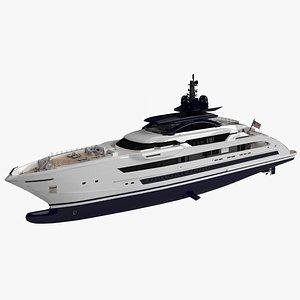 3D Willie Star Luxury Yacht Dynamic Simulation model