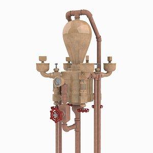 3D model Vintage Hydrostatic Lubricator