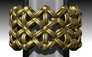 knit ring printable model
