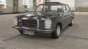 3D 1968 1975 Mercedes Benz W115