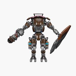 3D savior robot