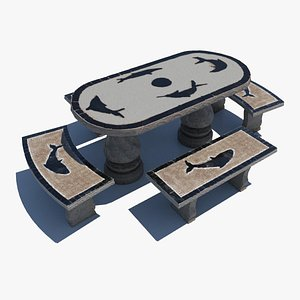 3D Bench for park model