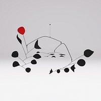 Alexander Calder Rouge Triomphant