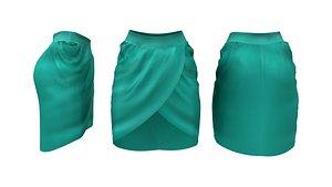 Tulip Skirt 3D model