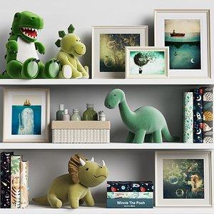 Kids Room Decor 16 3D model