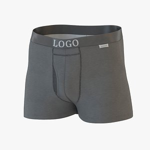 male underwear 001 3D model