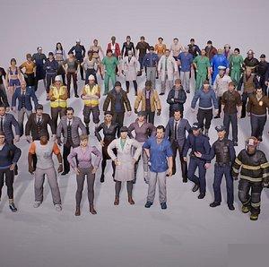 Citizen NPC 3D model