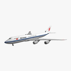 boeing 747-8i air china 3D model