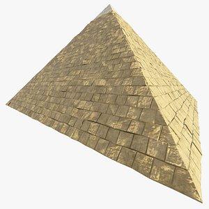 ancient egypt pyramid 3D