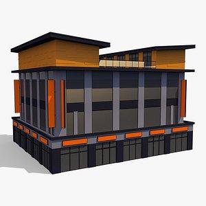 Commercial Building 005 3D model