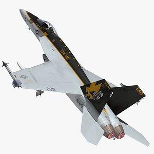 F18 Super Hornet Eagles 3D model