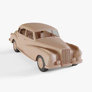 3D model 1951 Mercedes-Benz 300 Limousine