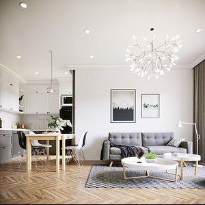 scene furniture room model
