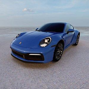 Porsche 911 Carrera Coupe 2021 3D model