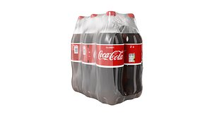 coca cola 2l 3D model